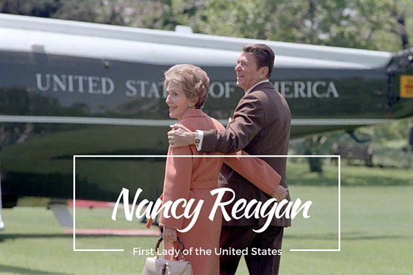 Nancy Reagan, First Lady of the United States