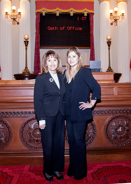 Senate Republican Leader Bates Welcomes Newly Sworn-In Senator Ling Ling Chang